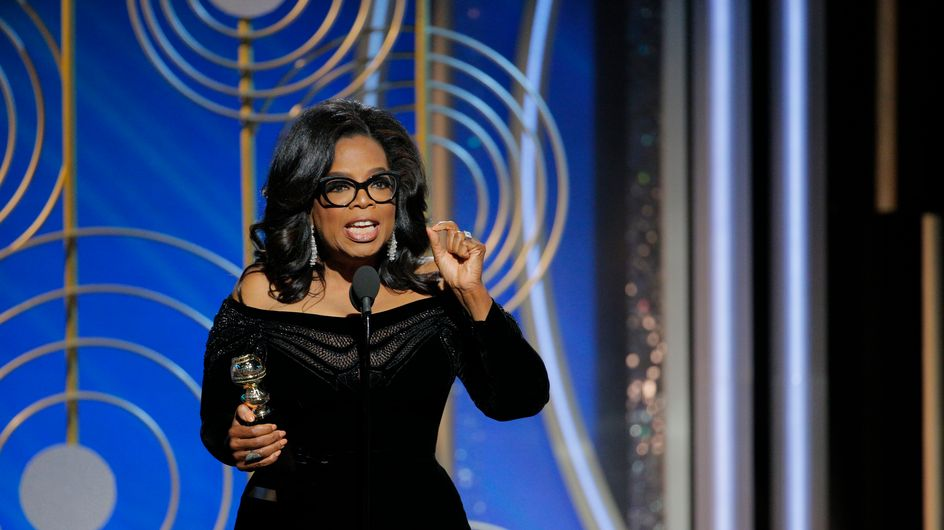 """""""Je veux que toutes les filles sachent qu'un nouveau jour arrive"""" Oprah Winfrey géniale aux Golden Globes"""