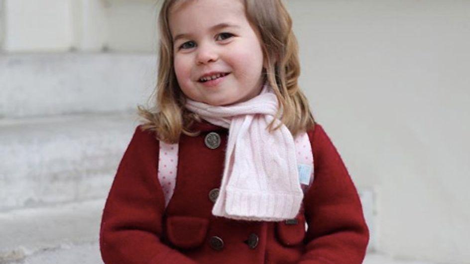 La princesse Charlotte, petite fille modèle pour sa première rentrée des classes (Photos)