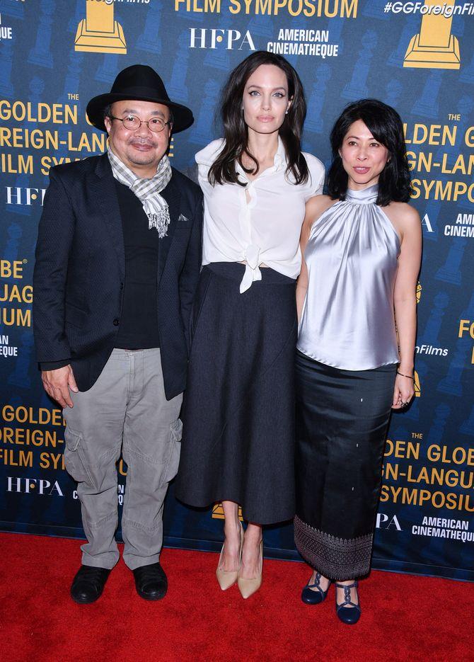 Angelina Jolie ai Golden Globes