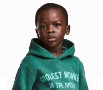 Un sweat raciste porté par un enfant noir et vendu par H&M crée la polémique