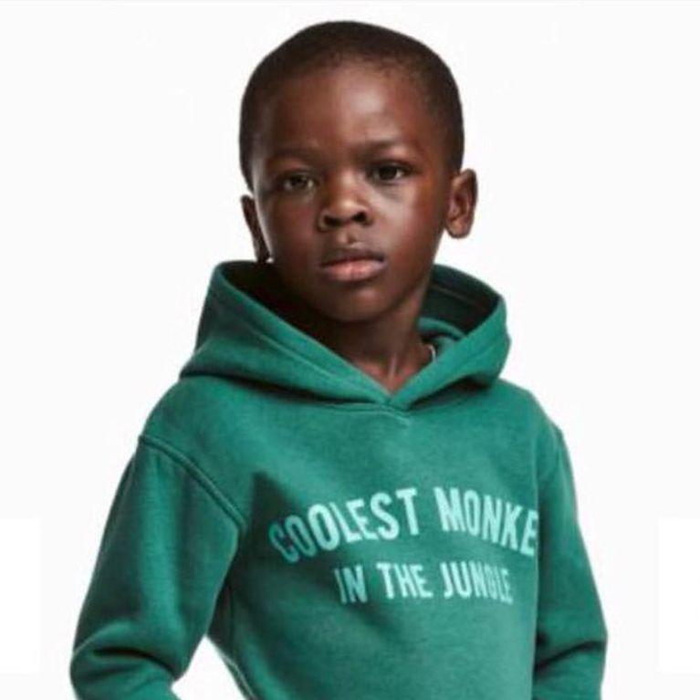 en présentant profiter de prix pas cher vente chaude en ligne H&M s'excuse après avoir posté une photo à connotation raciste
