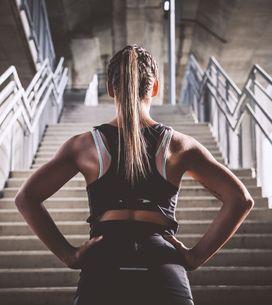 Power-Workout für Beine und Po: Treppenlaufen bringt die Kilos zum Schmelzen