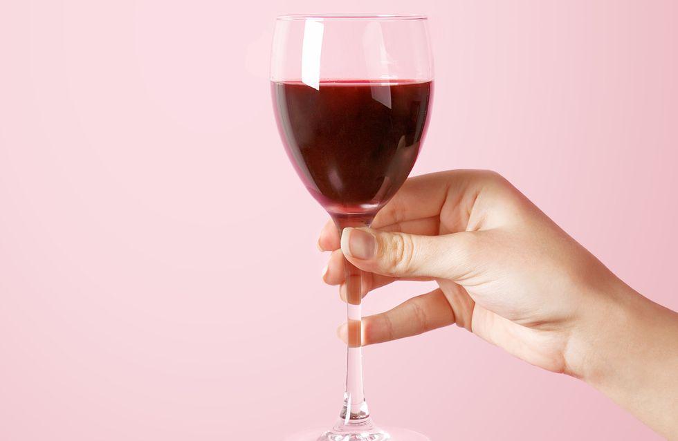 Le vin rouge nous rend plus jolie, en voici la preuve