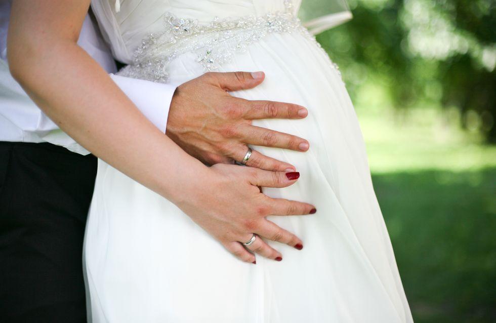 Se marier enceinte... les choses auxquelles penser