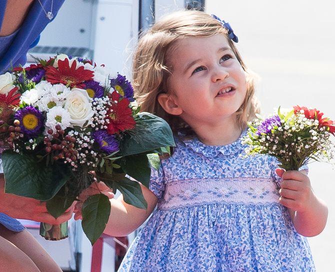 La princesse Charlotte et sa mère Kate Middleton