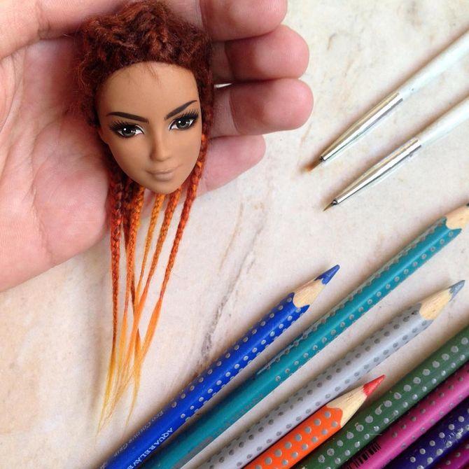 Barbie relookée par Rafinha Silva