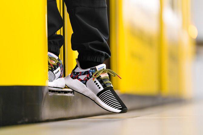 Baskets EQT-Support 93 / Berlin, Adidas x BVG - 180 euros