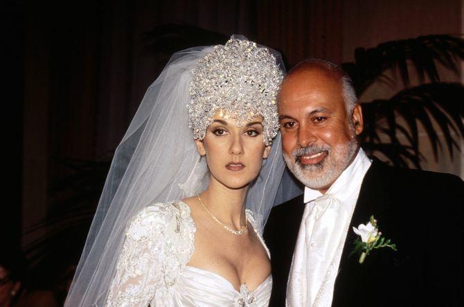 Célion Dion épouse René Angélil en 1994