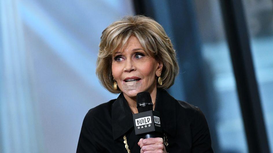 Jane Fonda revela que ha sido operada de cáncer de labio