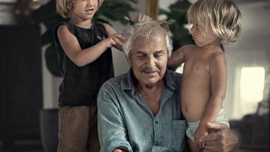 Générations, le projet qui traduit en photos l'amour unissant grands-parents et petits-enfants