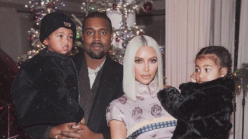 Kim Kardashian a dévoilé le prénom de sa petite fille ! (Photos)