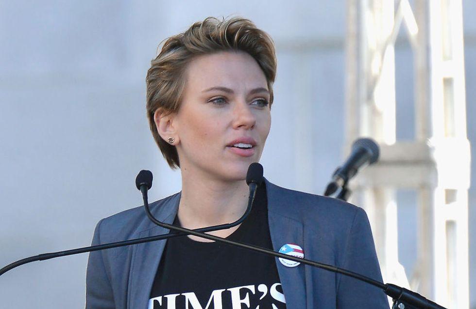 Scarlett Johansson pointe du doigt l'hypocrisie de James Franco, accusé de harcèlement sexuel