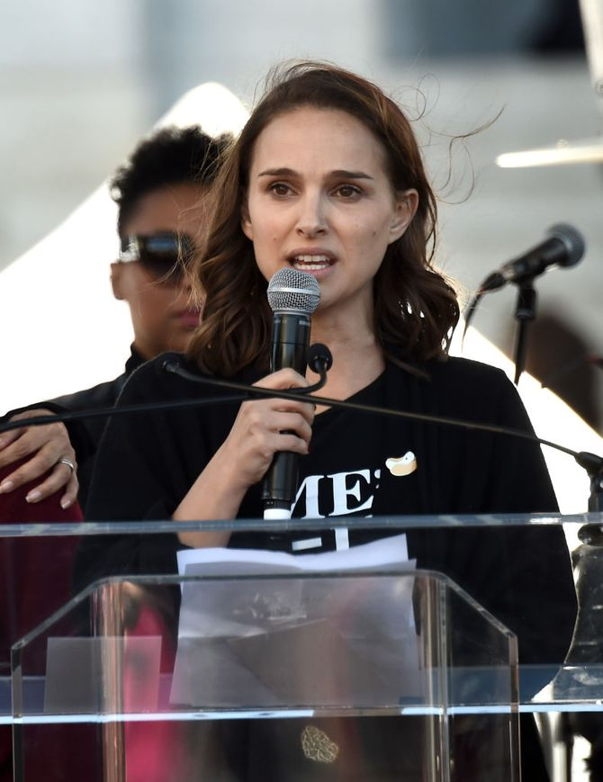 Les mots poignants de Natalie Portman lors de la Women's March contre Donald Trump