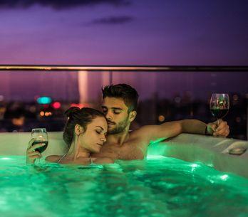 Spas románticos para sorprender a tu pareja en San Valentín