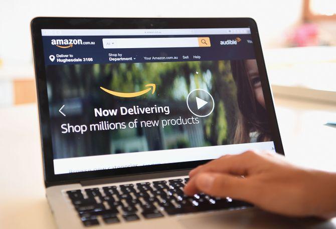 Site de vente en ligne Amazon