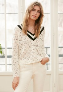Pull mainate, 225€, Claudie Pierlot