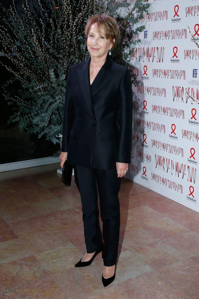 Nathalie Baye au Dîner de la mode