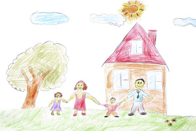 Kinderzeichnungen Was Sie Bedeuten Und Wie Du Sie Lesen Kannst