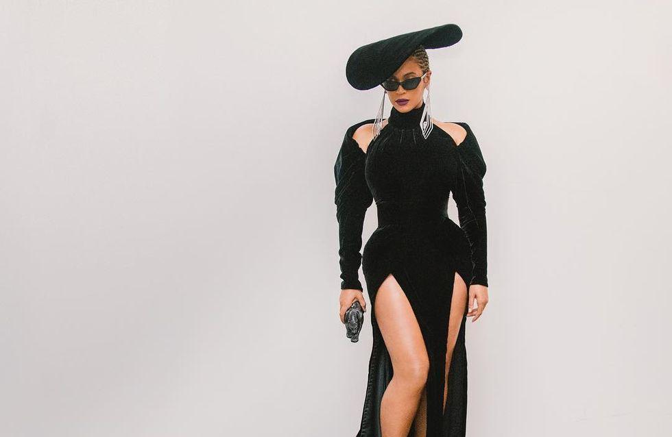Beyoncé, Jay-Z et Blue Ivy, ultra lookés pour assister aux Grammy Awards (photos)