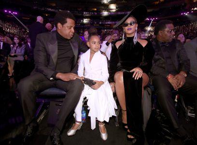 Beyonce, Jay-Z et Blue Ivy aux Grammy Awards