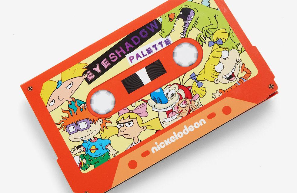Nickelodeon sort sa palette de maquillage, et on est déjà fans