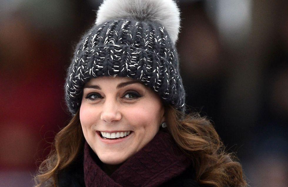 En voyage à Stockholm, Kate Middleton dévoile un ventre beaucoup plus arrondi (Photos)