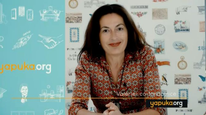 Valérie Falala, co-fondatrice de YAPUKA