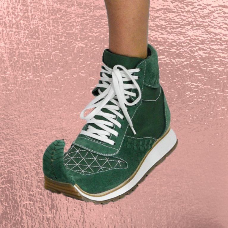 1ae602dfe80c Les baskets-babouches, la prochaine tendance de l'été ? (Photos)
