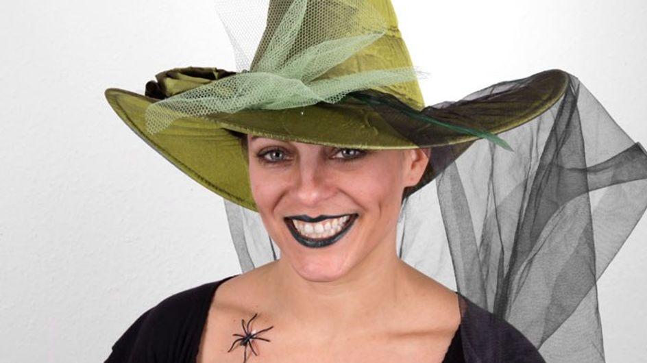 Hexe schminken: So geht's Schritt für Schritt