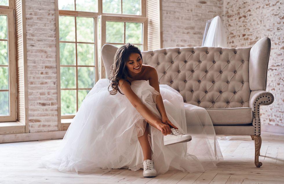 Les baskets, la nouvelle grande tendance mariage ?