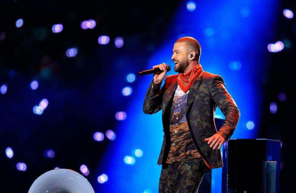 Justin Timberlake livre un hommage vibrant à Prince lors de sa prestation au Super Bowl (vidéo)