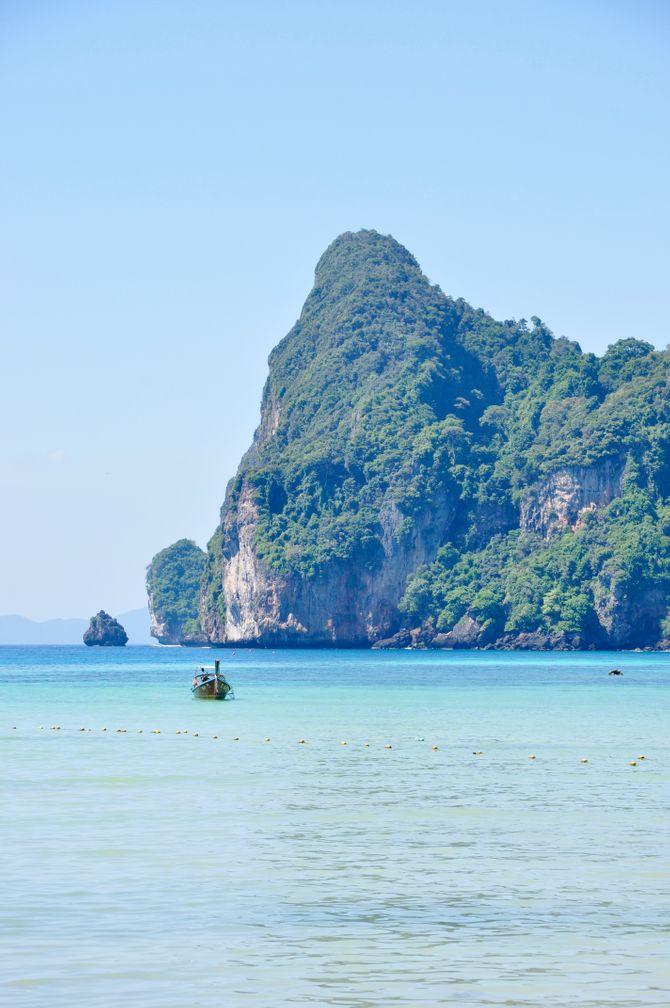 Les eaux turquoise de la Thaïlande