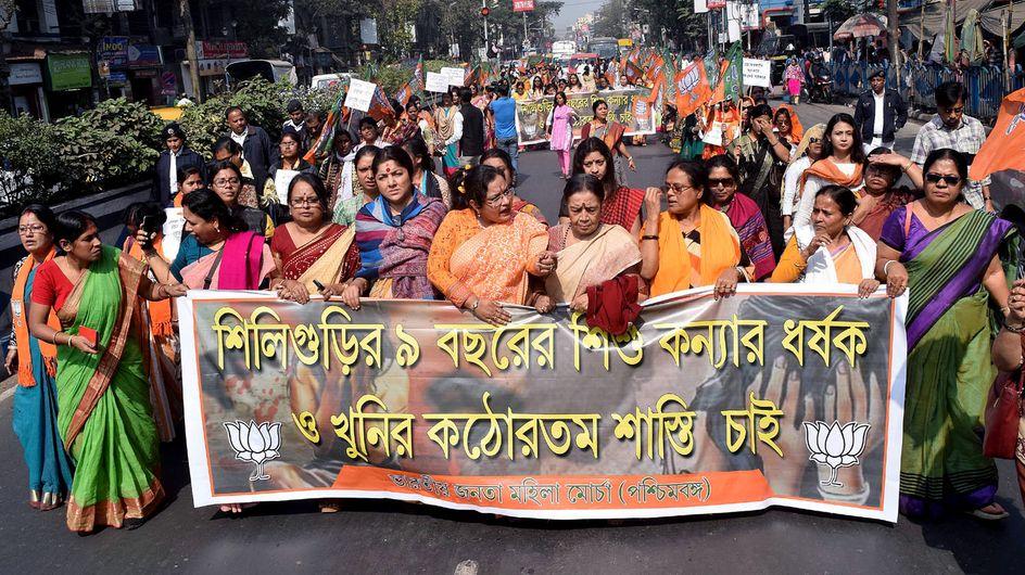 Cri de colère en Inde suite au viol d'un bébé de 8 mois