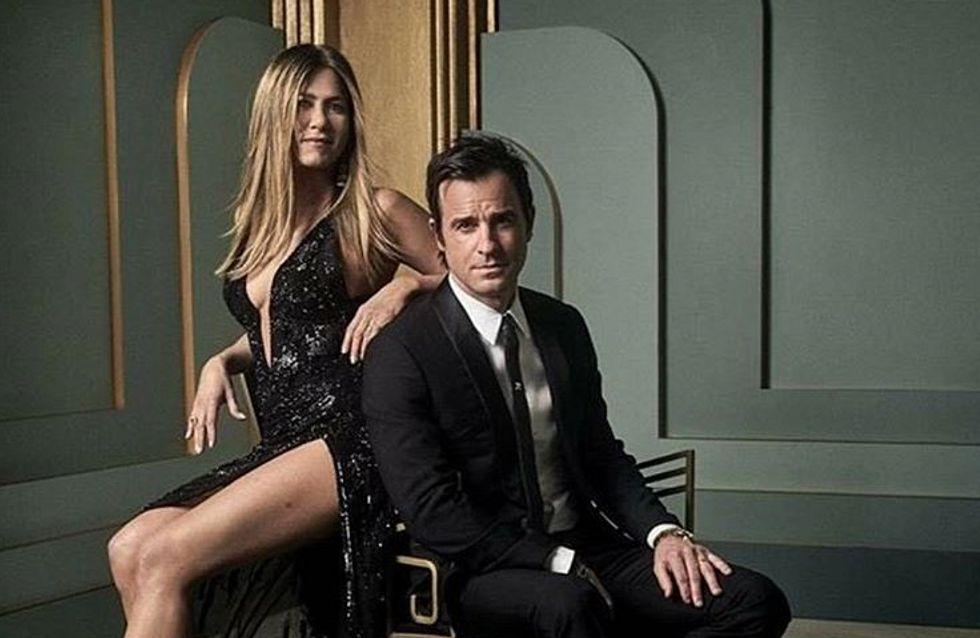 Jennifer Aniston y Justin Theroux abren las puertas de su casa