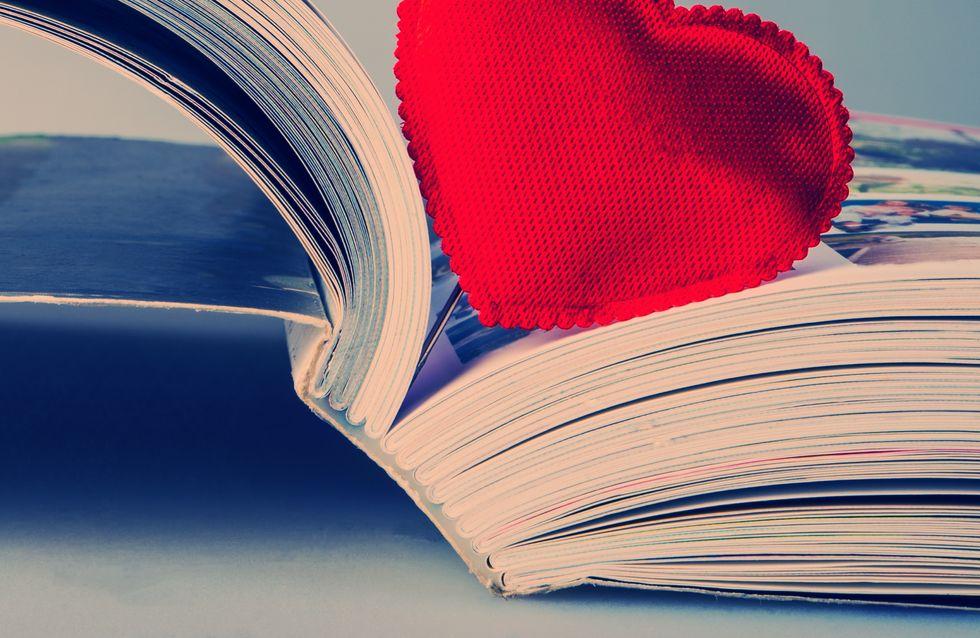 Notre sélection livres spéciale Saint Valentin