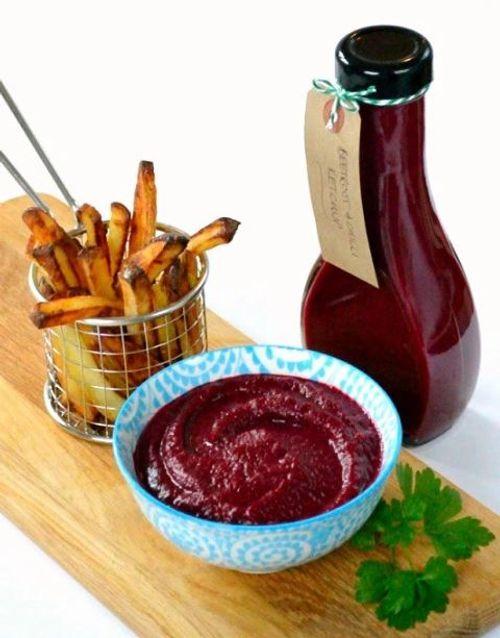 Comment préparer un ketchup à base de betterave rouge ?