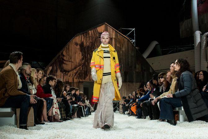 Défilé Calvin Klein, Automne-Hiver 2018-2019