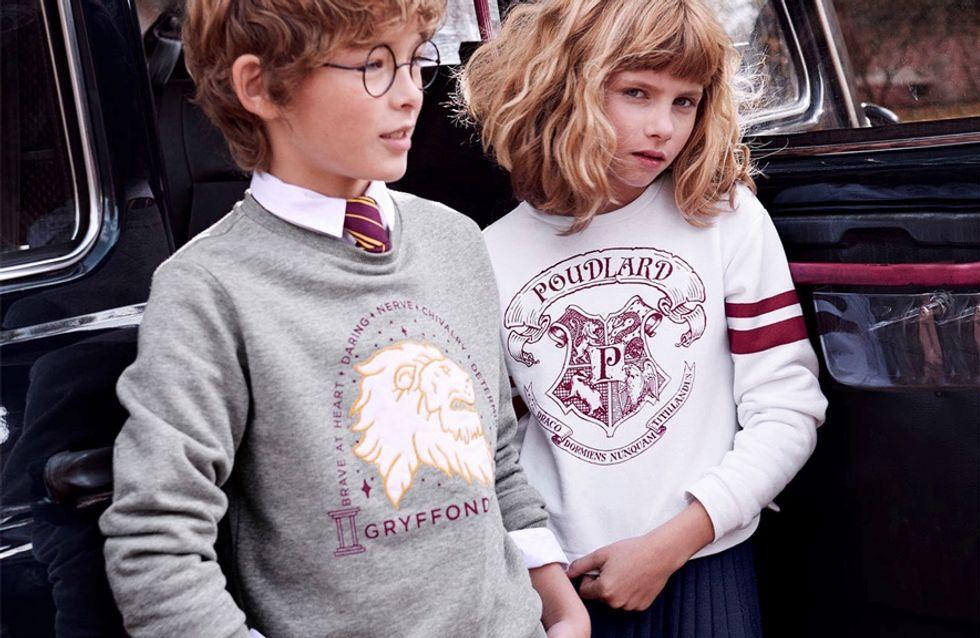 Cette collection Harry Potter pour enfants nous fait complètement craquer !