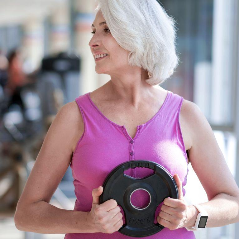 como recuperar masa muscular despues de perder peso