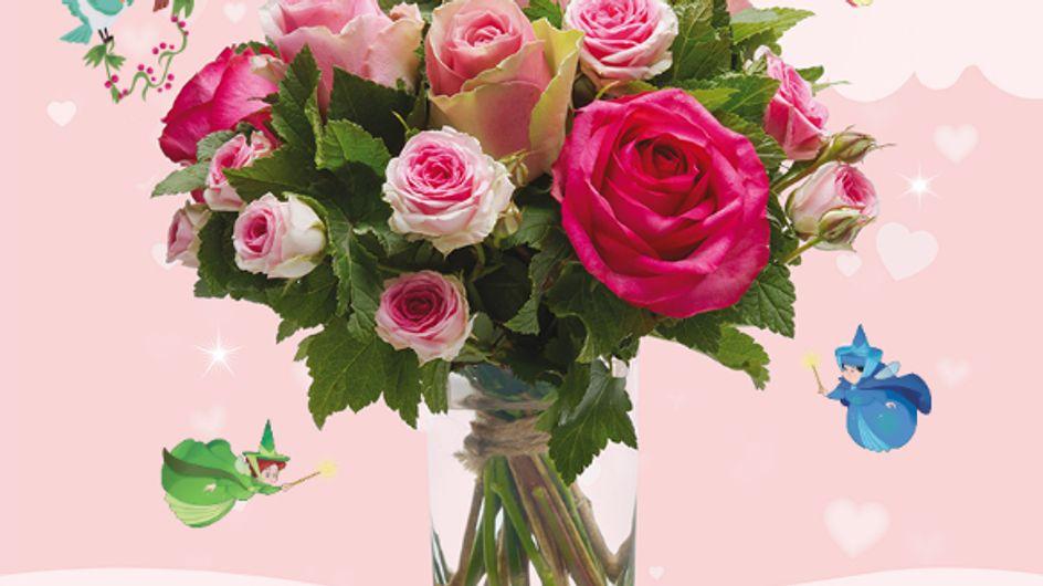 Des bouquets de fleurs inspirés des princesses Disney ? On les veut tous !