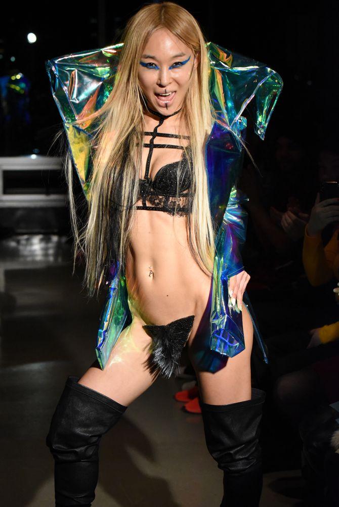 Kaimin défile à la Fashion Week