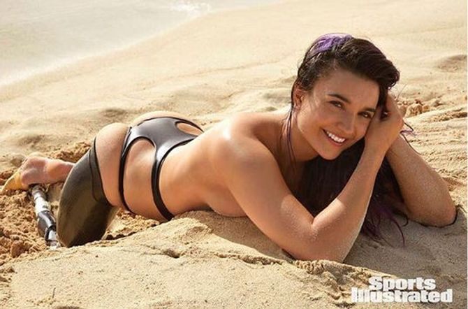 Brenna Huckaby pour Sports Illustrated