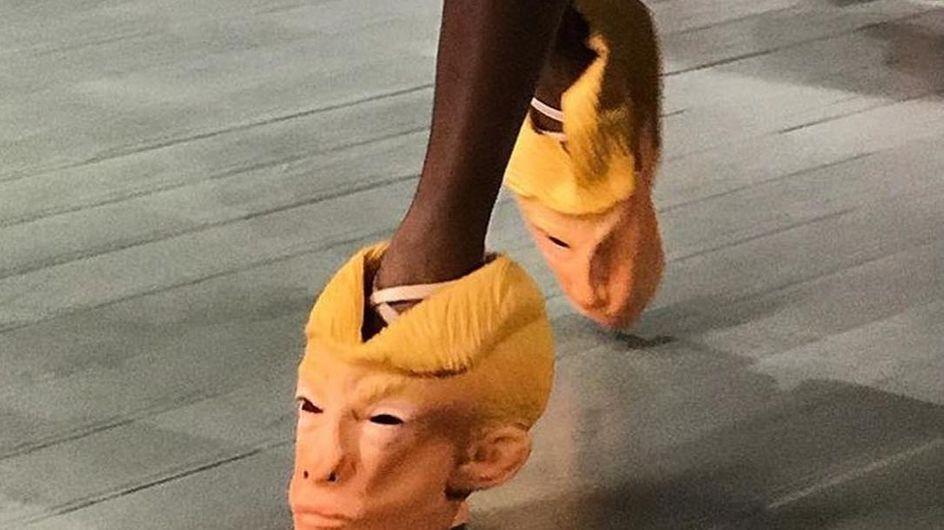 """WTF ? Un créateur imagine des chaussures """"Donald Trump"""" (Photos)"""