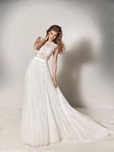 Robe de mariée deux-pièces, modèle Xinia, Pronovias
