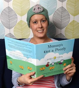 Atteinte d'un cancer, elle écrit un livre pour expliquer la maladie à ses enfant