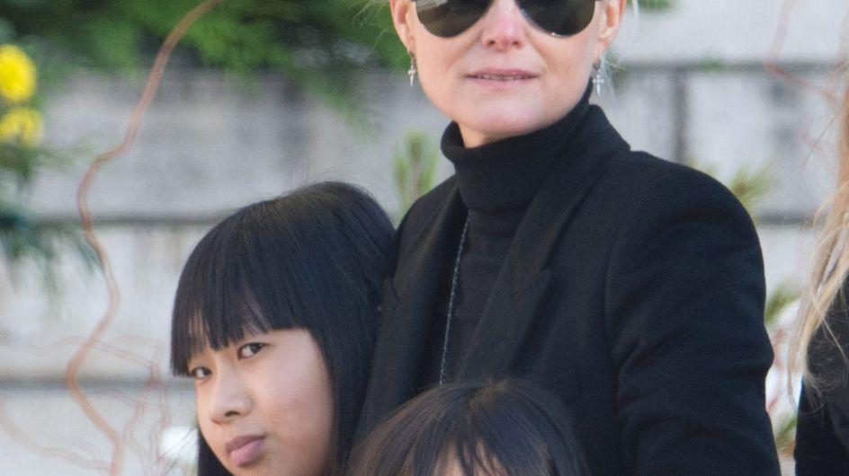 Jade et Joy, les filles adoptives de Johnny Hallyday, victimes de propos racistes