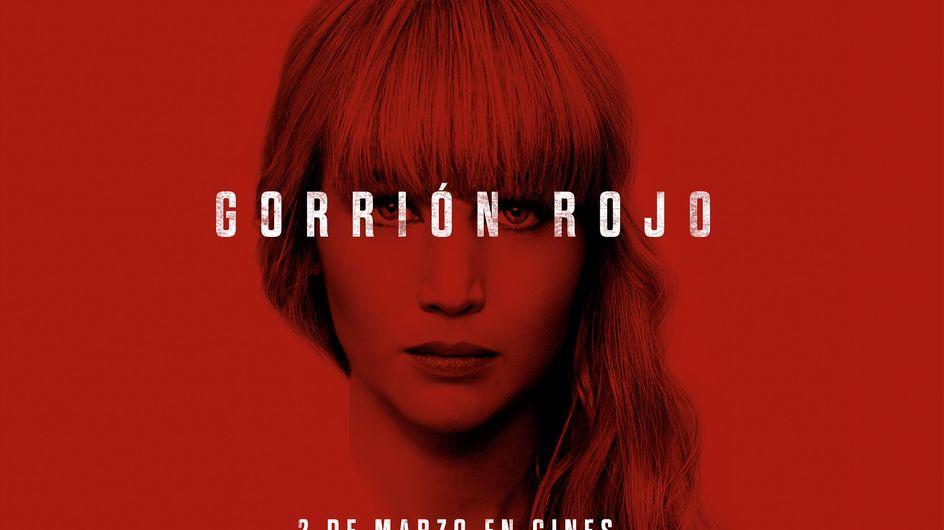 Entradas gratis para Gorrión Rojo, la última película de Jennifer Lawrence