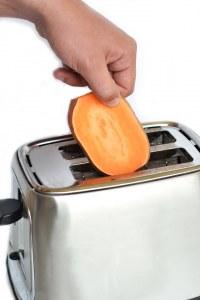Comment préparer des toasts de patate douce ?