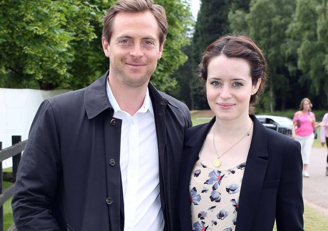 Claire Foy y Stephen Campbell