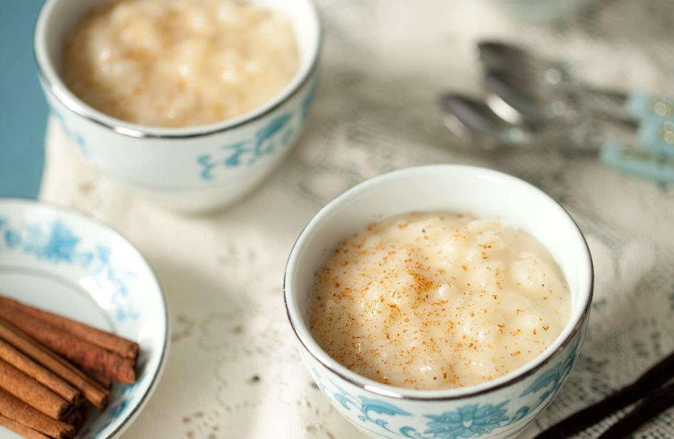 Le parfait riz au lait, à la texture bien moelleuse